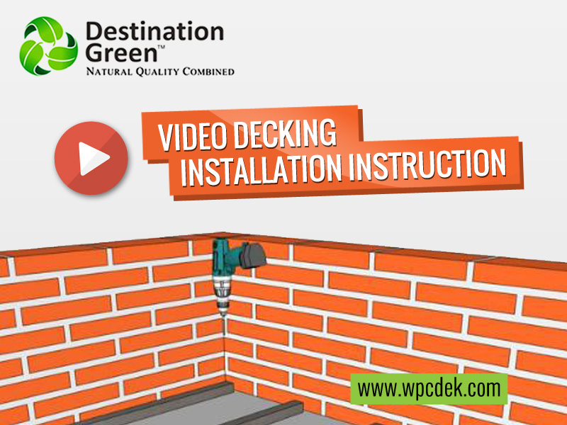 Video WPC Decking Indonesia Installation Instruction