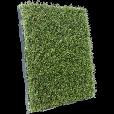 Artificial Grass Interlocking Garden Deck Tile