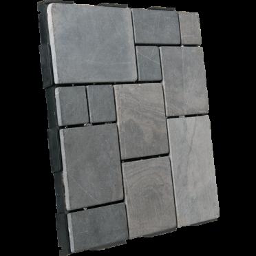 Interlocking Garden Deck Tile