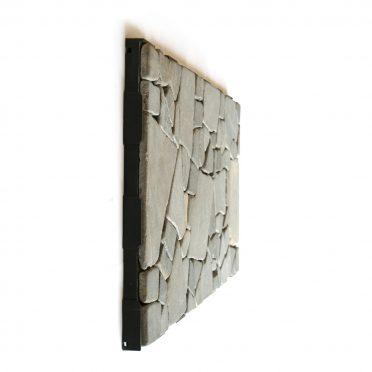 Grey Stone Mosaic Interlocking Garden Tile