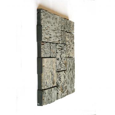 Lava Stone Patchwork Interlocking Garden Deck Tile