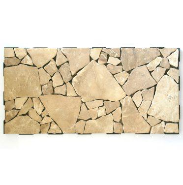 Natural Stone Mosaic Interlocking Garden Tile