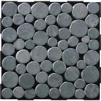 Coin Tile Interlocking Garden Deck Tile