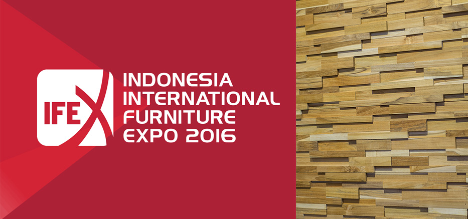We Join Indonesia International Furniture Expo (IFEX) 2016