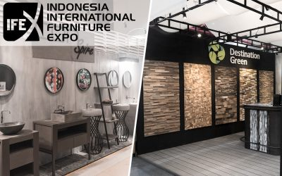We Join Indonesia International Furniture Expo (IFEX) 2018